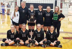Class 2A, Area 12 Volleyball Tournament Champions