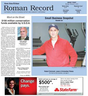 Hangar addition among items in Monday's Roman Record