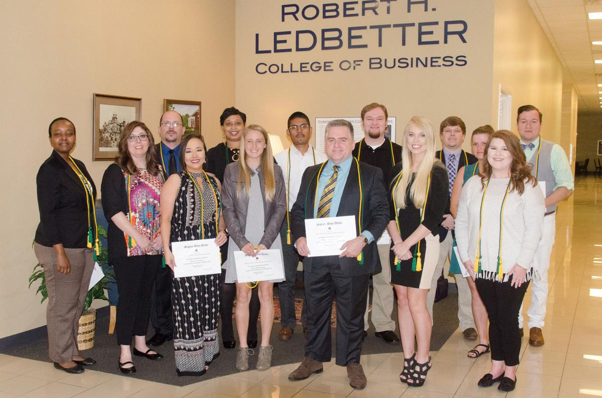 Shorter University Chapter of Sigma Beta Delta Inducts New Members