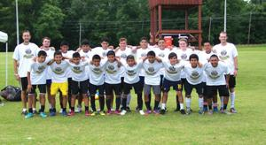 Calhoun team soccer camp