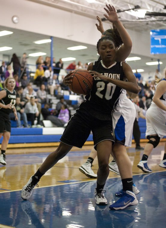 Calhoun @ Armuchee girls Basketball