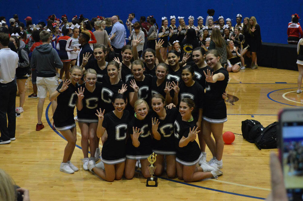 Coosa competition cheerleaders