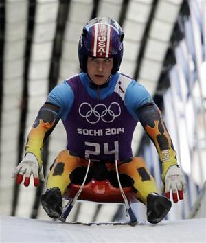 Sochi Olympics Luge Men