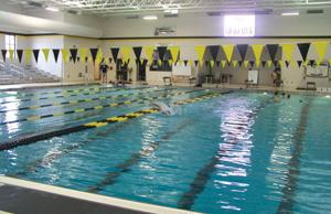 <p>The Calhoun Aquatic Center features a 25-yard, eight-lane pool with two Dura-Flex diving boards. (Alex Farrer, CalhounTimes.com)</p>