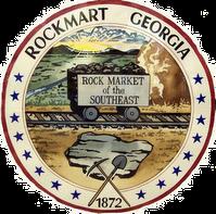 Rockmart City Seal
