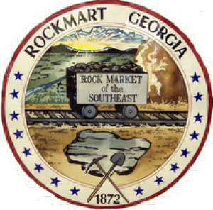 Rockmart still scene of building projects