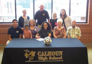 College Signing: Calhoun's Reynolds inks to play soccer at Berea