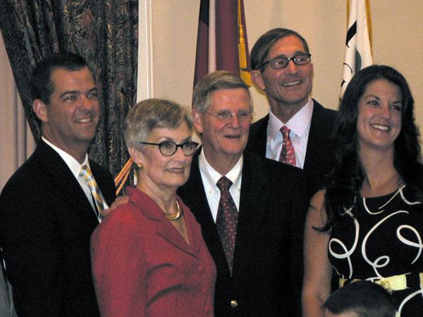 John Bennett's farewell
