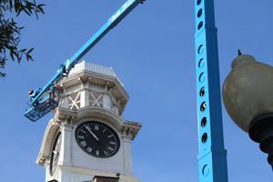 Work on the Clock Tower is set to be finished by December
