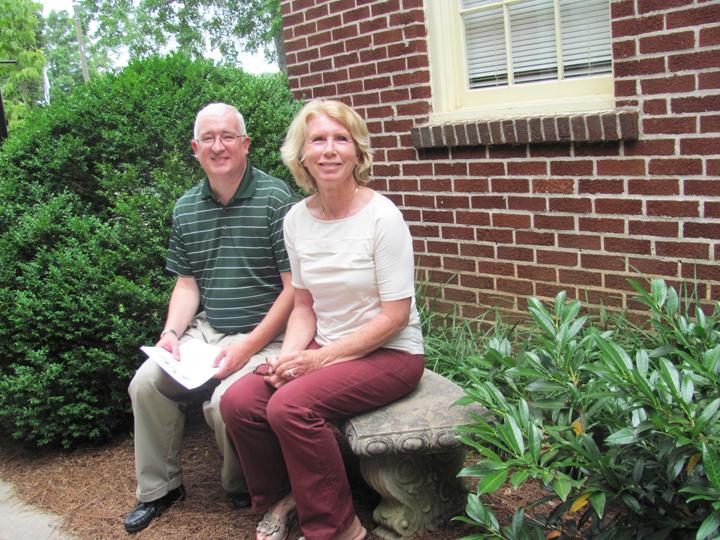 Pastors Jeannette Dickens and Greg Thompson