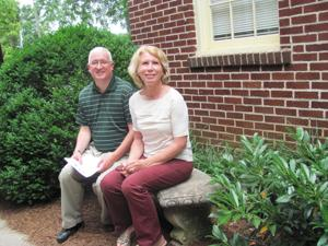 Pastors Jeannette Dickens and Greg Thompson