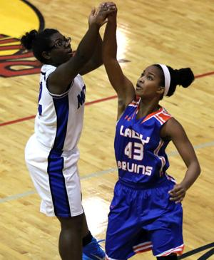 PREP BASKETBALL: Lady Blue Devils take 61-49 tourney win