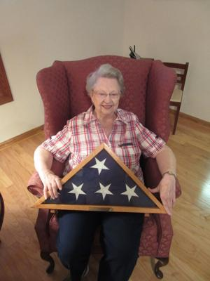 <p>Frances Cole, wife of WWII vet John V. Cole reflects on her husband's days as a radioman. </p>