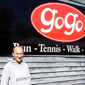 <p><strong>Jay Stephenson</strong>,  co-owner of <strong>GoGo Running and Tennis</strong> <strong>LLC</strong></p>