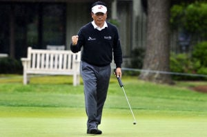 Choi leads rain-delayed RBC