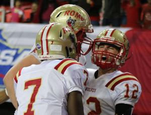 FOOTBALL: 2nd-half surge propels Rome to 1st ever state championship
