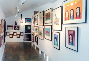 Paradise Garden to display Finster serigraph collection