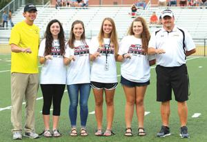 Prep Golf: Lady Jackets recognized, receive championship rings