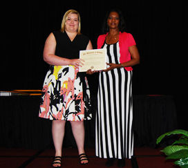 <p>Megan Seddon of Calhoun, Georgia was the recipient of the Mylan Pharmaceuticals Inc. Excellence in Pharmacy Award.</p>