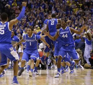 APTOPIX NCAA Kentucky Michigan Basketball