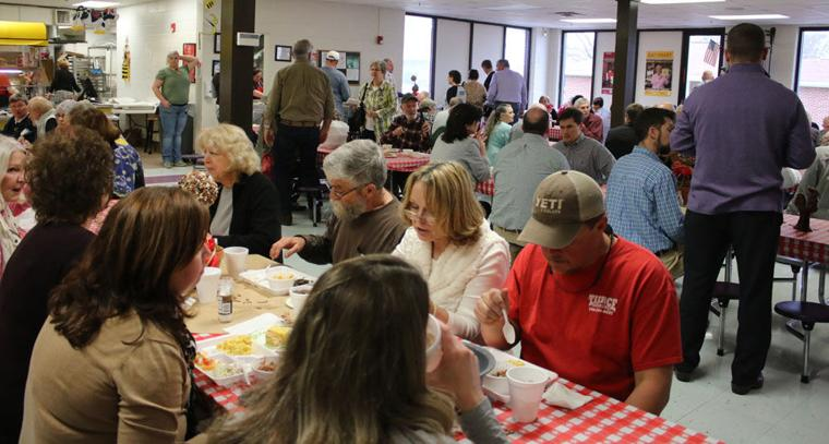 Cave Spring Elementary's Pinto Bean Luncheon draws a crowd