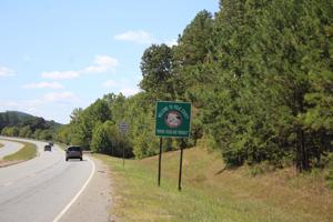 Polk County welcome sign