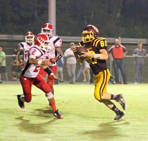 HIGH SCHOOL FOOTBALL: Gaston rolls past Spring Garden, 40-13