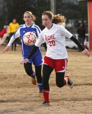 Girls Soccer: Rome v. Cass