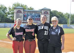 Prep Softball: Local quartet helps Team Georgia to split in Classic