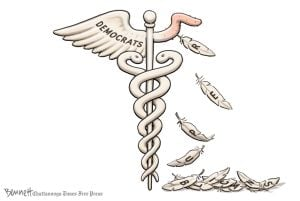 Clay Bennett's cartoon