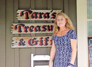 <p>Tara Brock of Tara's Treasures and Gifts</p>