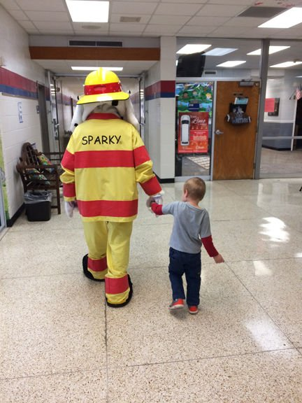 GCF&R visit schools for Fire Prevention Week