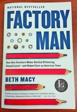 <p>Factory Man, a book written about John Bassett III, chairman of Vaughan-Bassett Furniture Company, has been an inspiration to American businesses.</p>