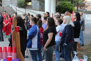 Vigil for those killed because of domestic violence