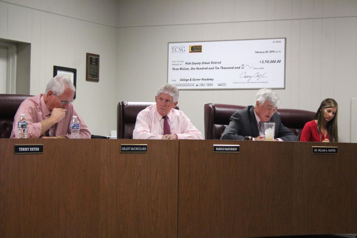 Polk Board of Education, Oct. 18, 2016