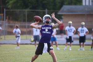 FOOTBALL: Teams compete in 7-on-7 camp at Darlington