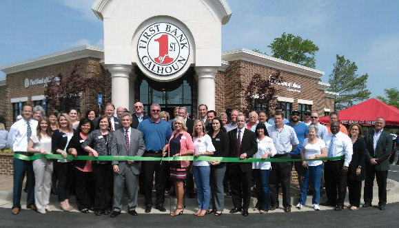 First Bank of Calhoun holds grand opening
