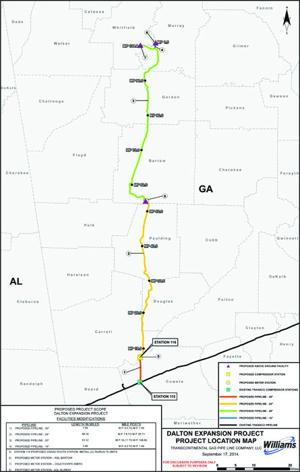 Citizen voices concerns on pipeline expansion