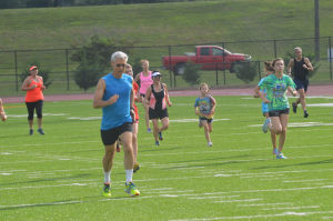 GoGo Running Club has workouts every Tuesday at Barron Stadium