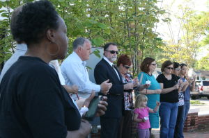 <p>CASA of Polk and Haralson organized the candlelight vigil in remembrance of the victims of child abuse. </p>
