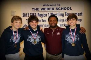 Unity Christian Wrestling, J.P Popham, Jacob Stepp, Colin Espy and Zane Waits recently competed in the state tournament.