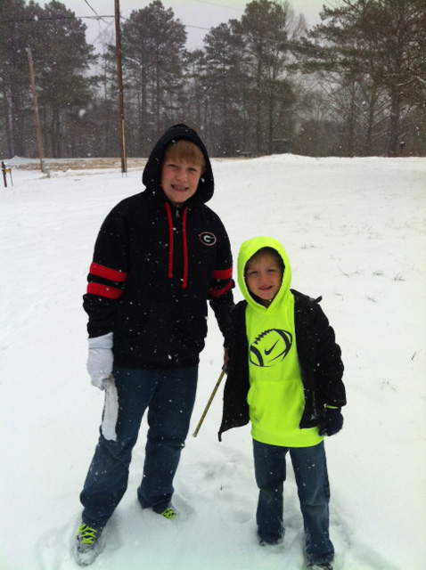 Cedartown Snow Day 16