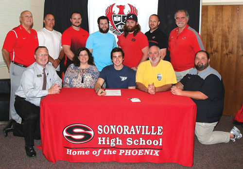 Sonoraville's Caleb Storm signs with Point