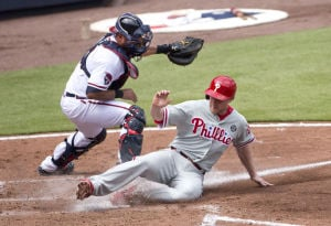 Braves' offense goes quiet in no-hit loss against Philadelphia