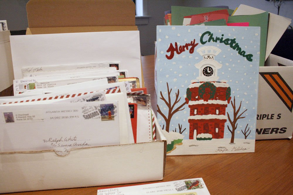 Christmas cards for Ralph White