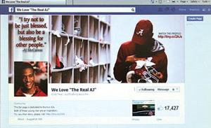 A.J. Starr Facebook Page