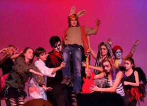 """<p>Local performers took to the stage for a musical, dark adaptation of """"Alice in Wonderland"""" on Saturday, Oct. 18.</p>"""