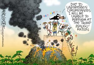 Mike Lester's Cartoon
