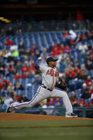ATLANTA BRAVES: Teheran 3-hits Phillies; Braves win 1-0