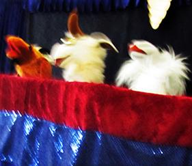 Cedartown Library puppet show